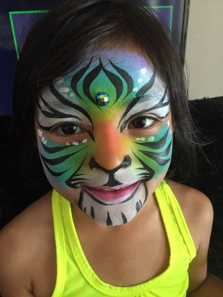face painting for girls | Orlando Face Painters | Colorful Day Events