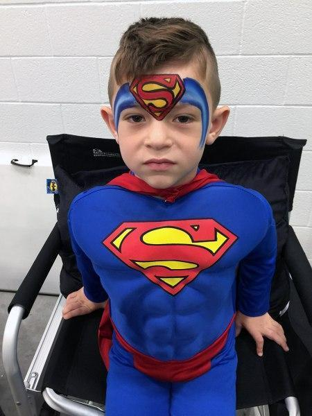 Images Tagged Superman Orlando Face Painting Colorful Day Events