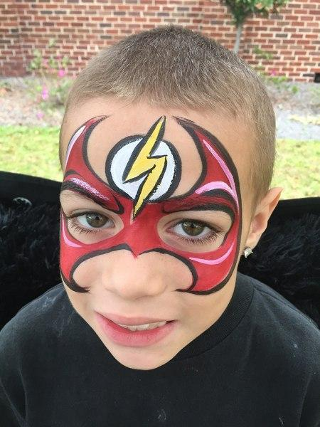 Super Hero Face Painting Orlando Painters