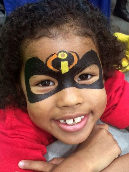 Super hero face painting orlando face painters for Face painting business