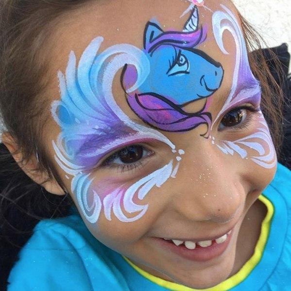 Face Paint Orlando Face Painters Colorful Day Events