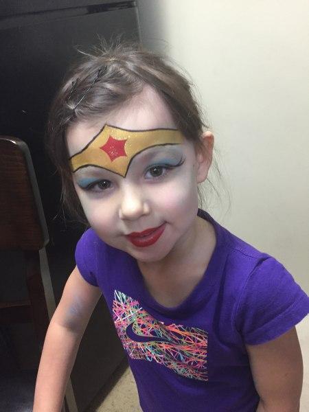 Super Hero Face Painting Orlando Painters