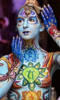 yyyy mm dd hh:mm_Fantasy Fest Body Painter 2018 | Orlando Face Painting | Colorful Day Events