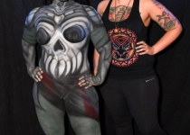 i-r0k ready player one body paint