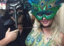 Breast Cover Body Paint
