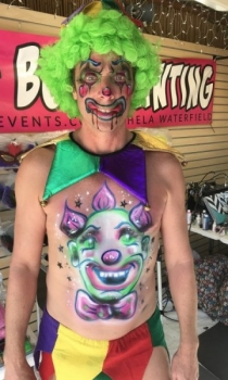 Key West Fantasy Fest Body Painter For Hire