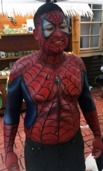 spider-man-body-paint-fantasy-fest