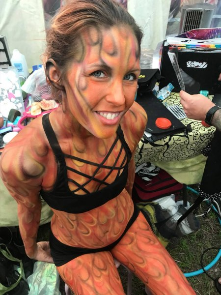 Body painting in key west - 2 2