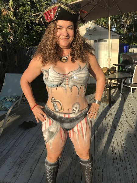 Fantasy Fest Body Painter 2018 Orlando Face Painting Colorful Day Events