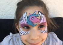 Unicorn Face Paint Design