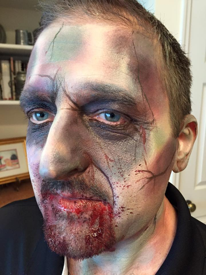 zombie Face makeup