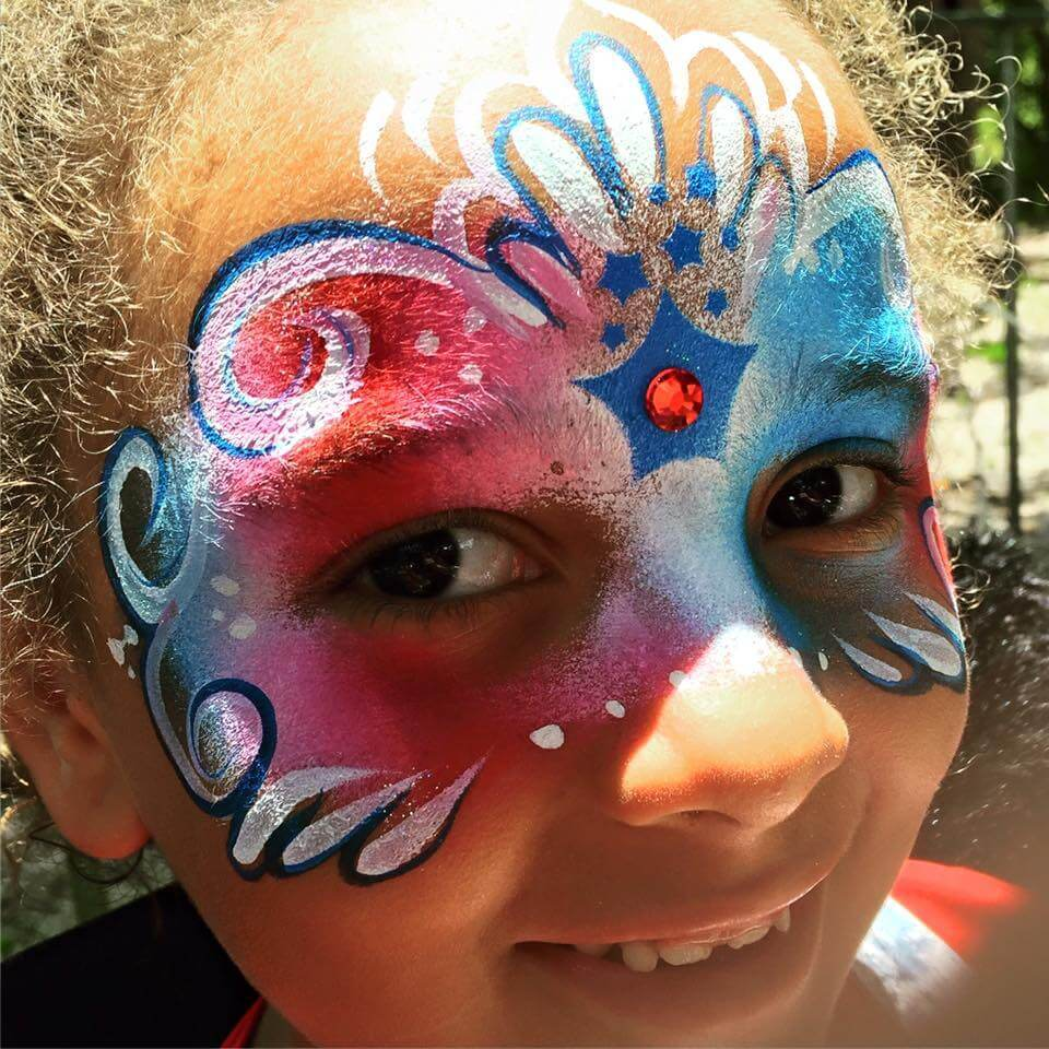 Birthday Party Face Painter
