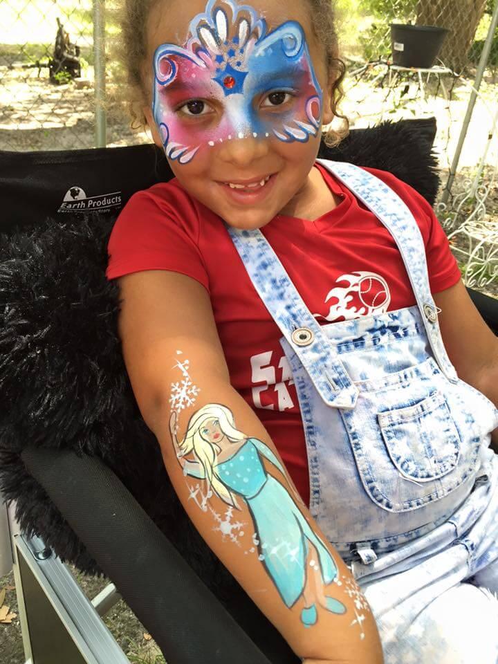 Little Girl Face Paint