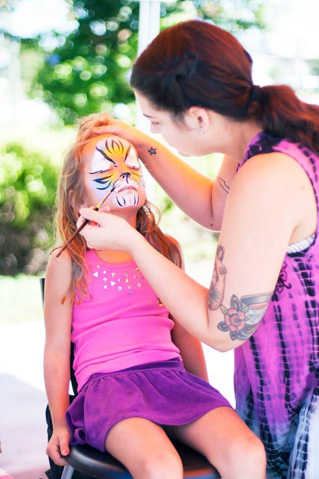 Kids Face Painter in Orlando
