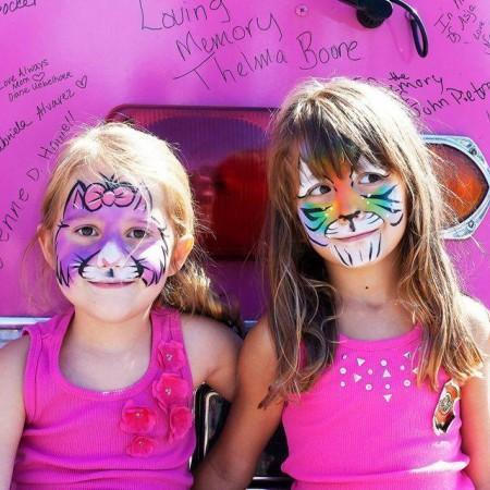 Little Kids Face Painter for Parties