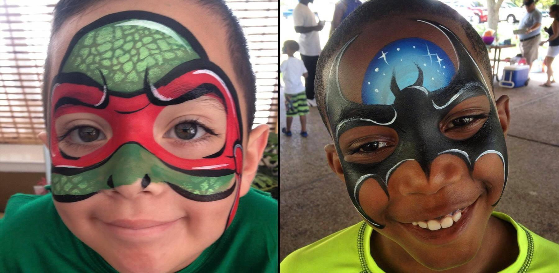 Winter park face painter for kids parties
