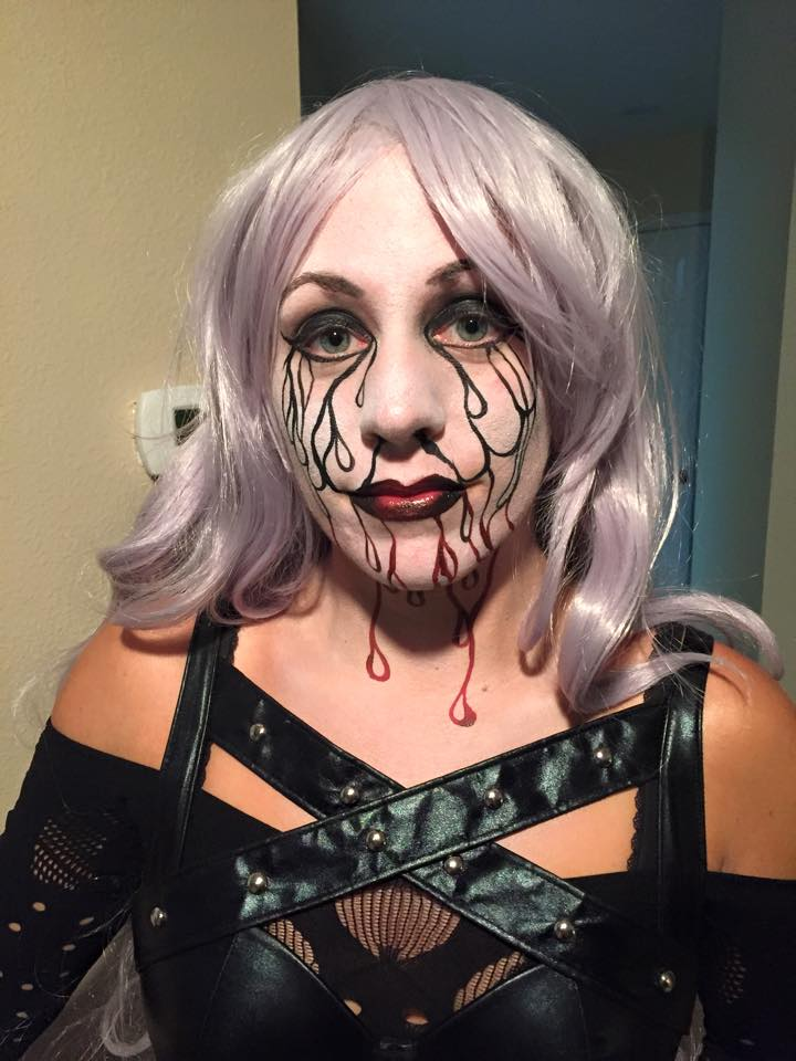 Custom Face Paint for Halloween