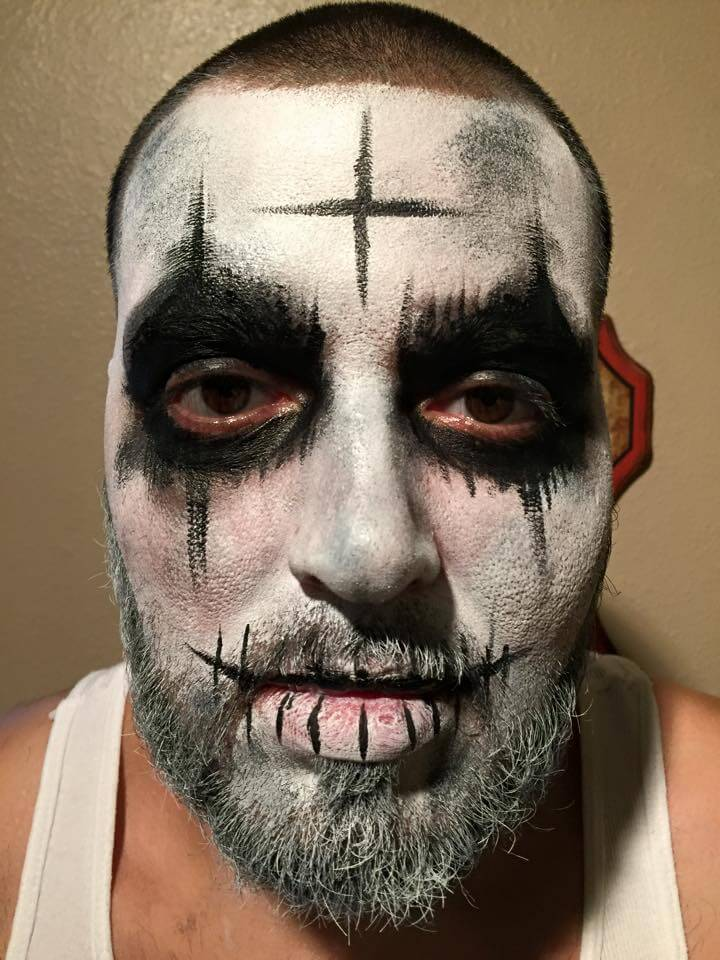 the purge face paint