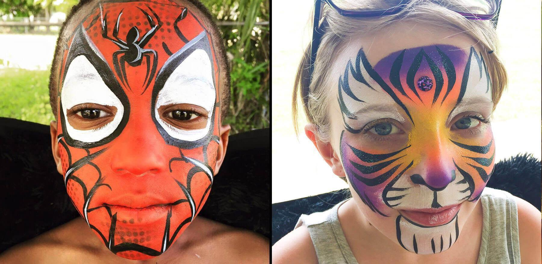 face-painters-in-Lake-Buena-Vista-fl