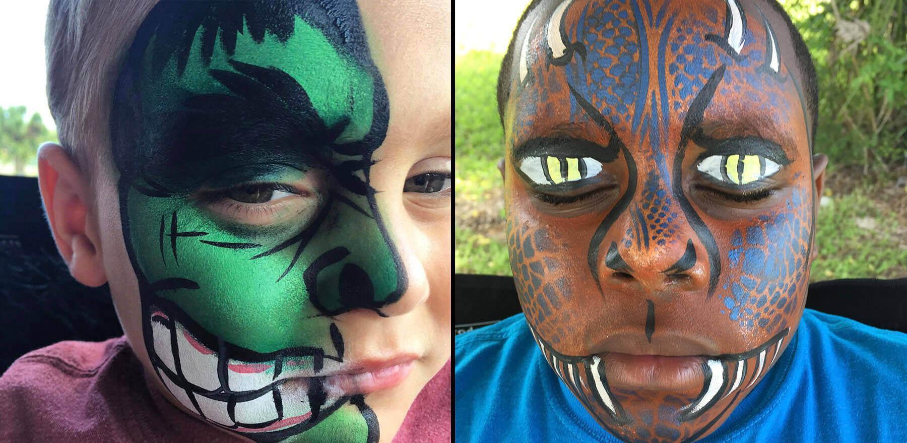 face painting Lake Buena Vista fl