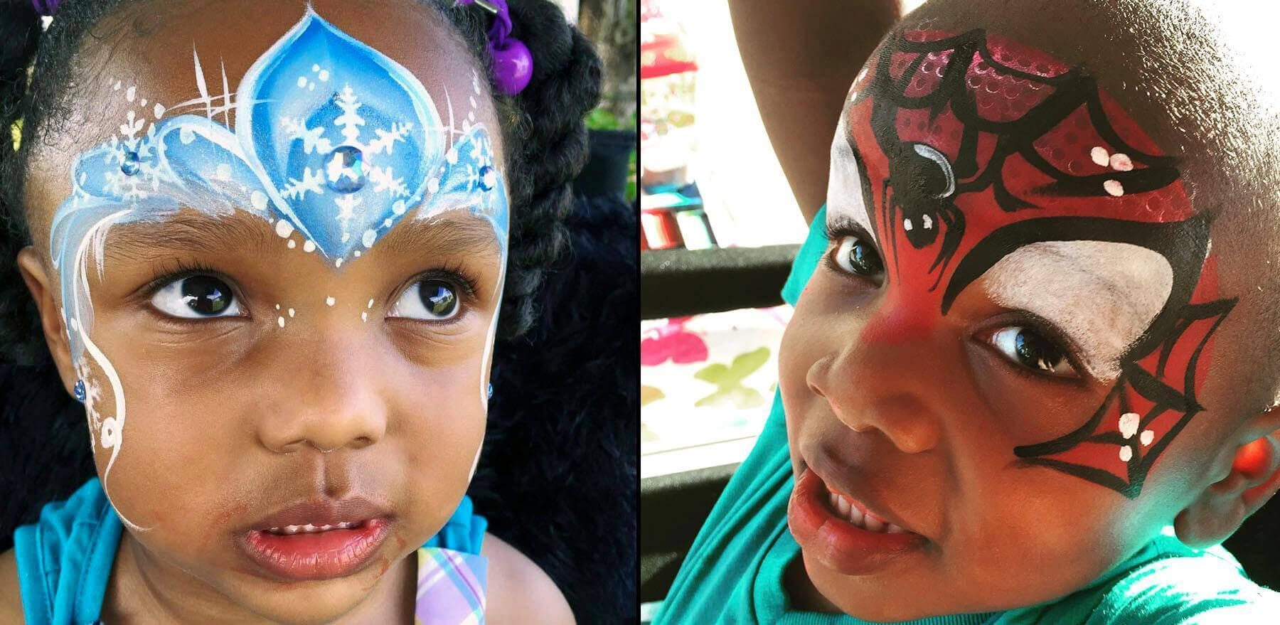 face painting Windermere