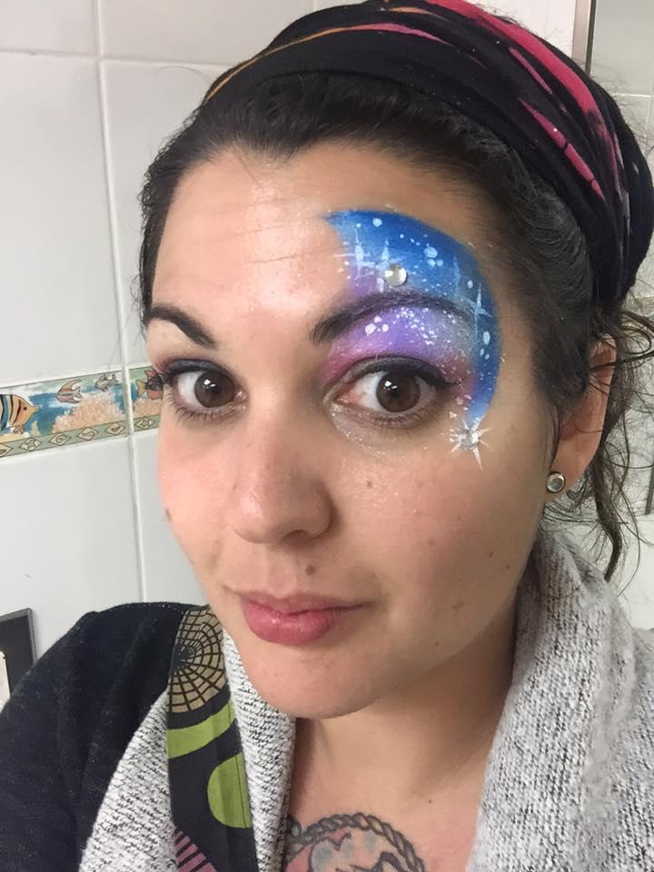 Face painter key lime pie festival port canaveral 2016