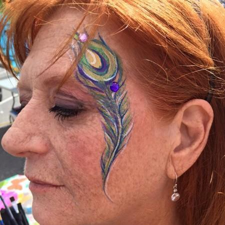 Face painter key lime pie festival port canaveral 2016