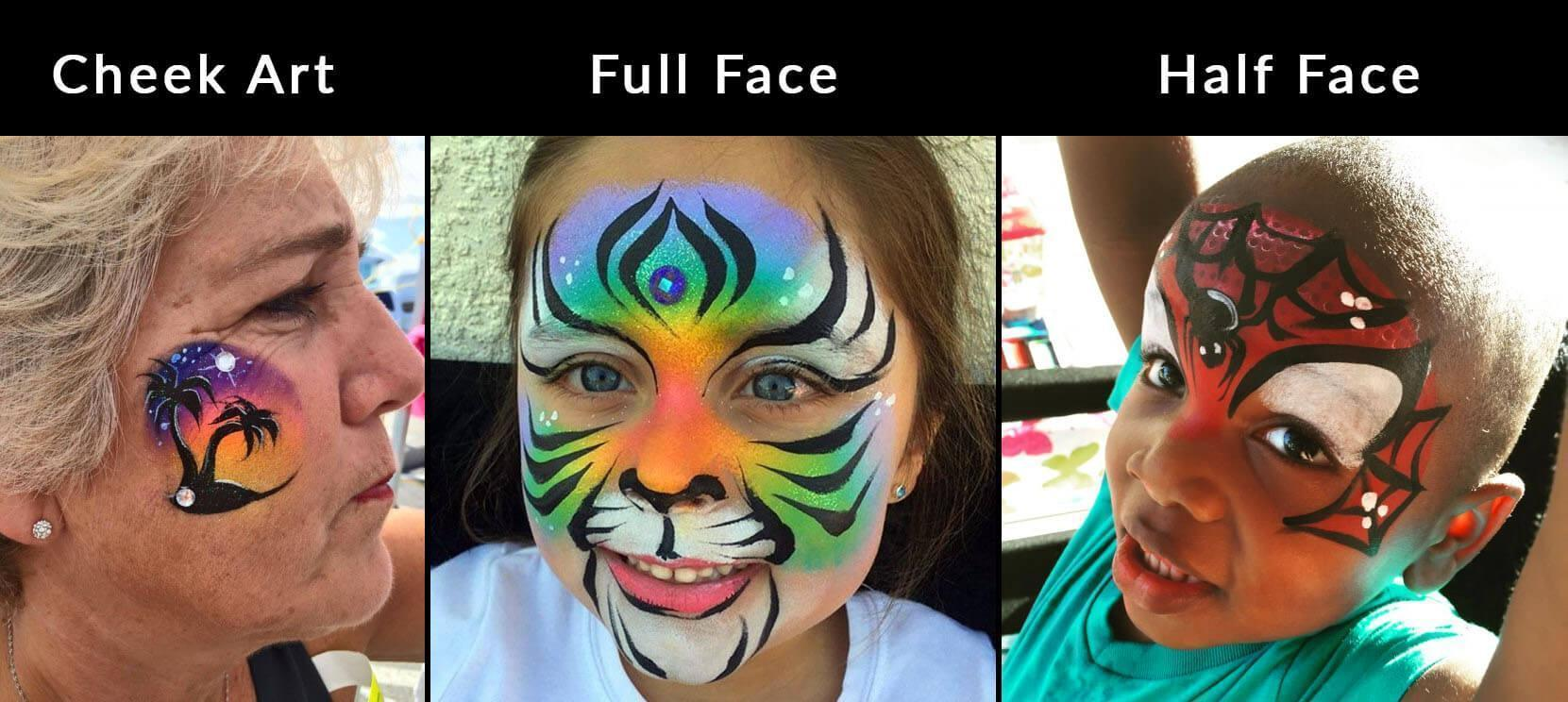 face-paint-design-types
