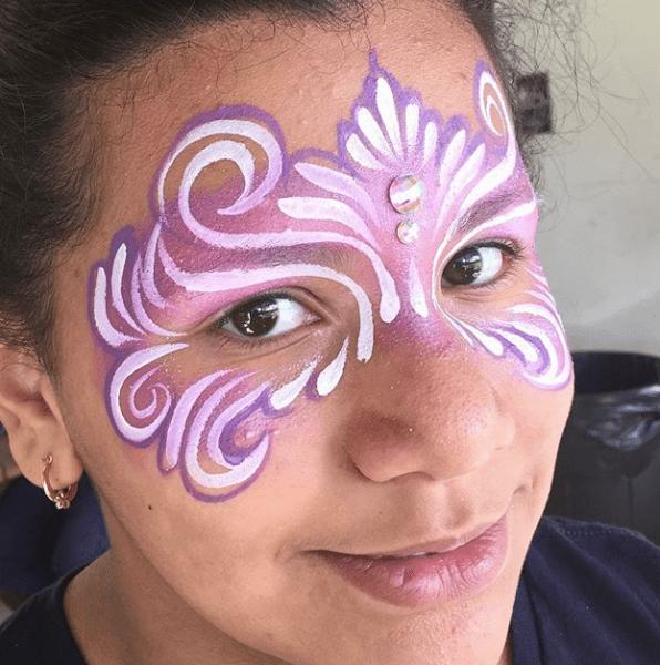 Face Painter Orlando Princess Mask