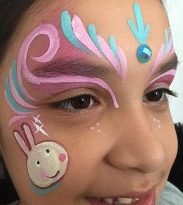 peppa pig face paint