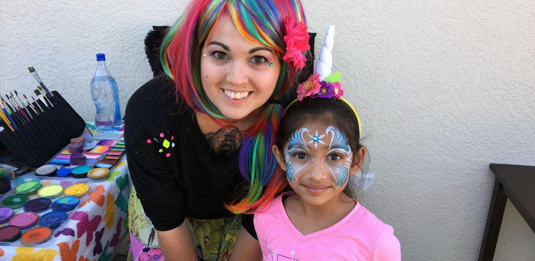 face painter orlando - face painting company