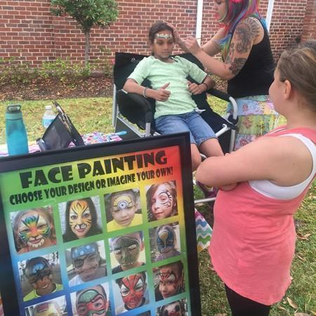 Face Painting Sandford