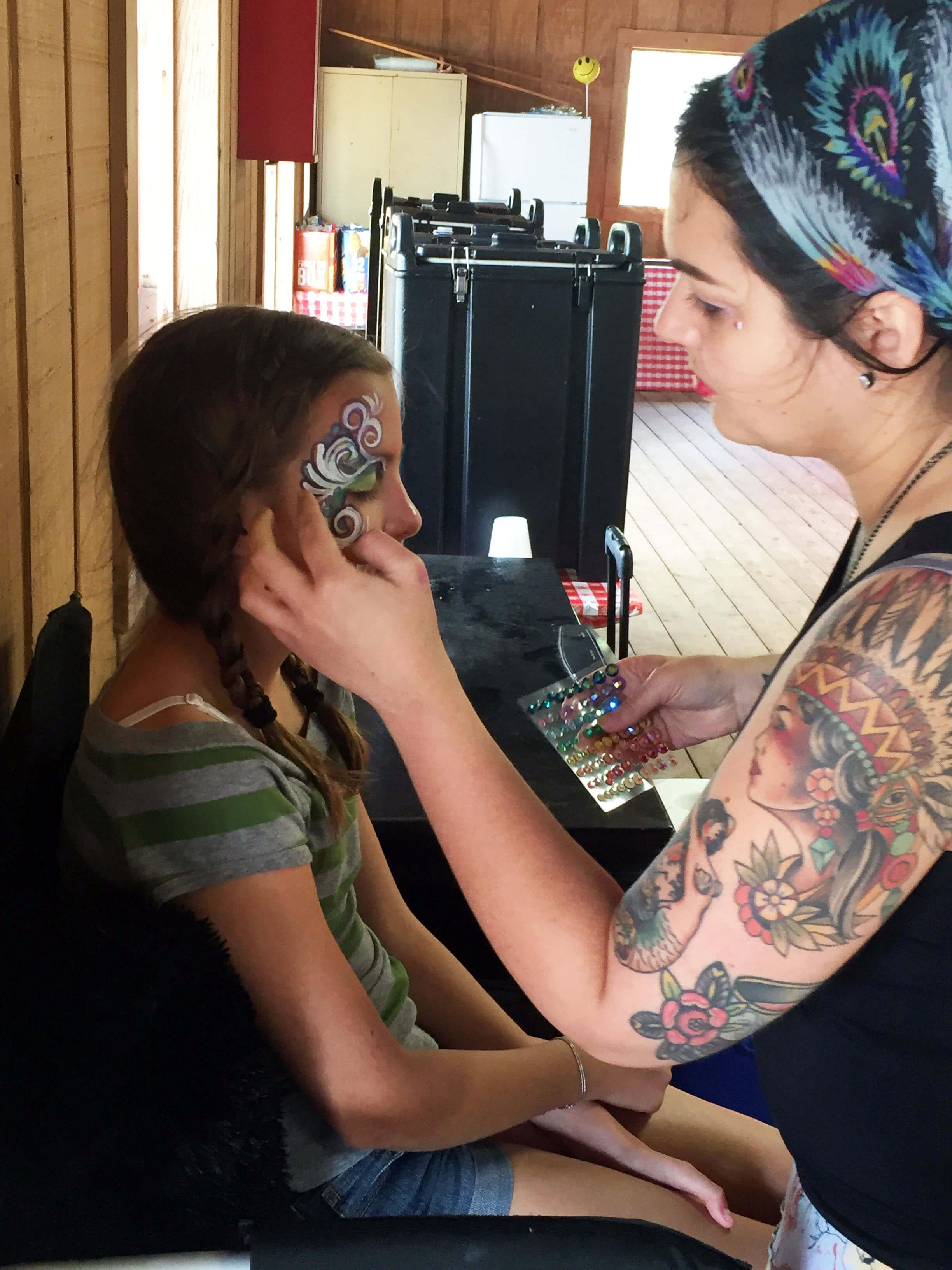 face painter caselberry florida