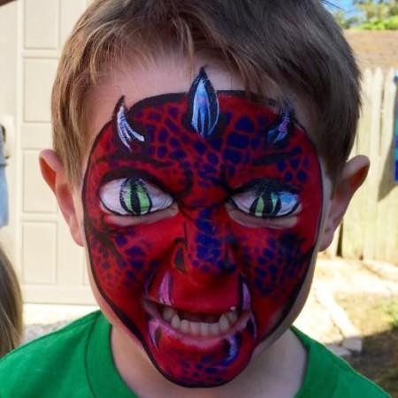 Virginia beach face painting