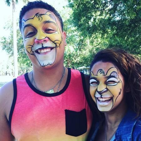 Lion King Face Paint Design
