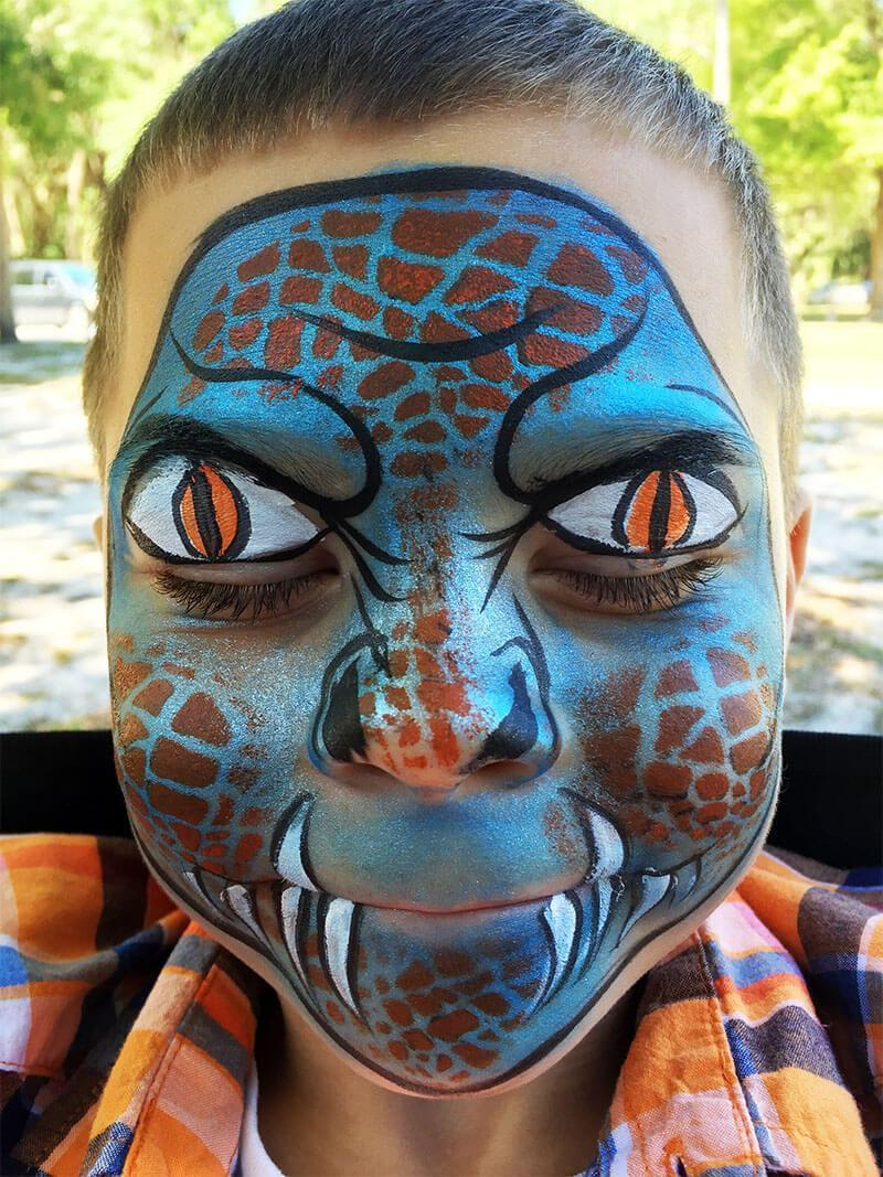 Winter park face painting party