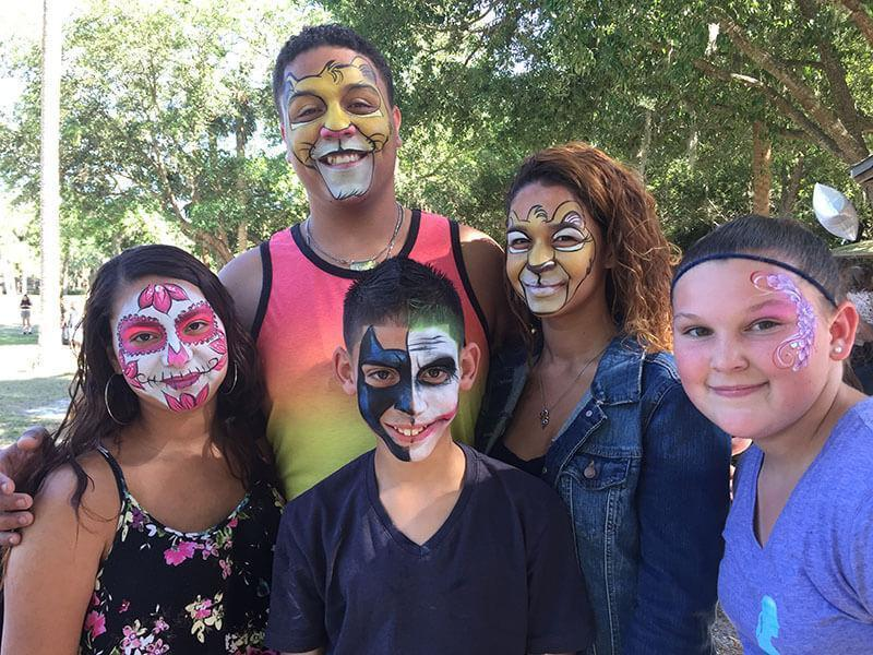 winter park face painting company