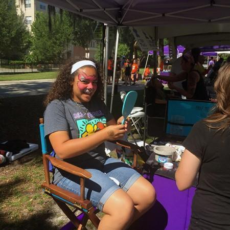 best buddies walk 2016 orlando florida face painter