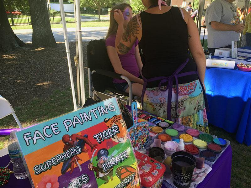 best buddies walk 2016 orlando florida face painting