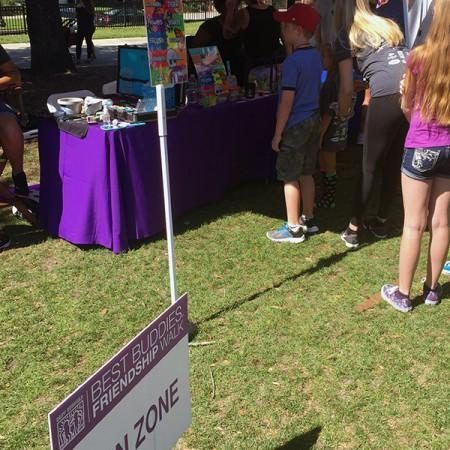 face painting best buddies walk 2016 orlando florida