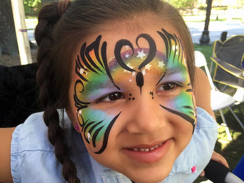 face painting best buddies walk 2016 orlando florida