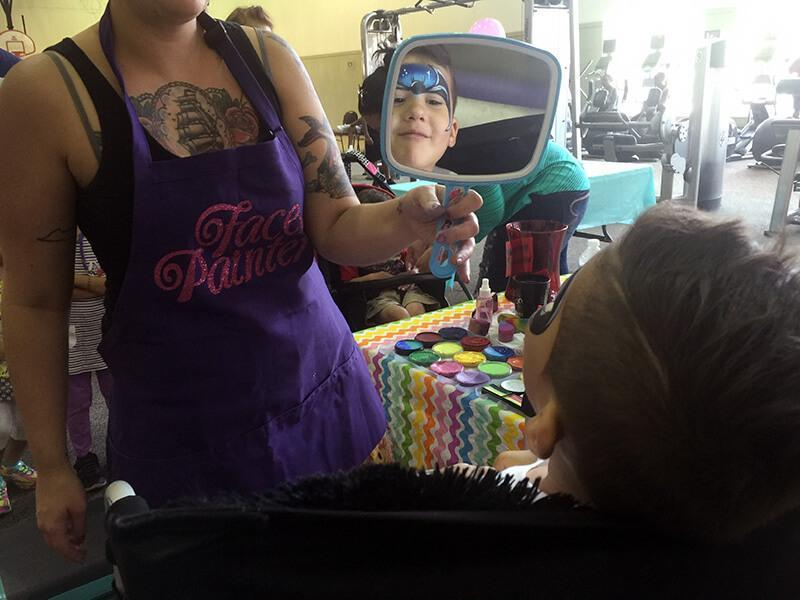 face painter orlando ymca chela waterfield