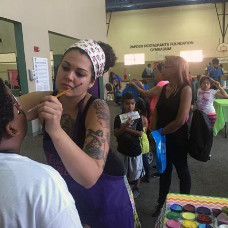 face painter orlando ymca health kids