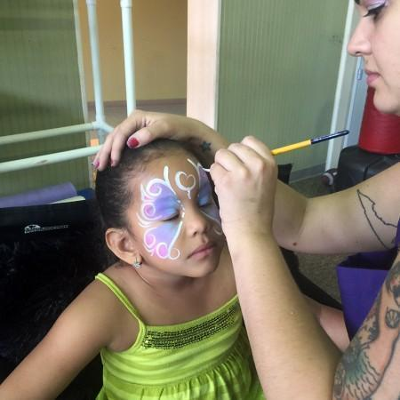 face painting orlando ymca fl