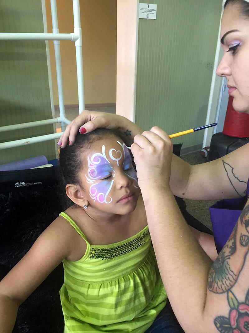 face painting orlando ymca fl