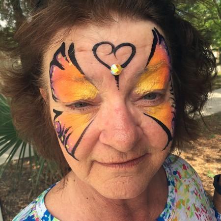 Winter Park Florida Face Painter