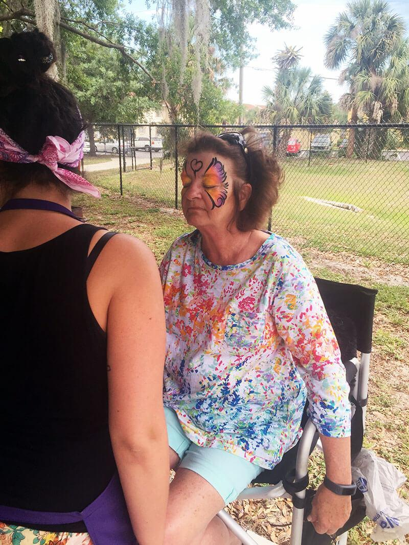 Winter park florida face painting
