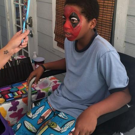 Orlando Face painter Corporate Event
