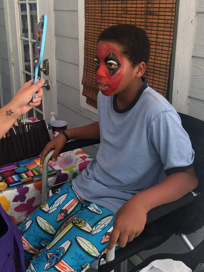 Orlando Face painter Corporate Event