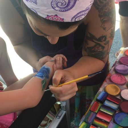Face Painter Orlando. Teacher Association